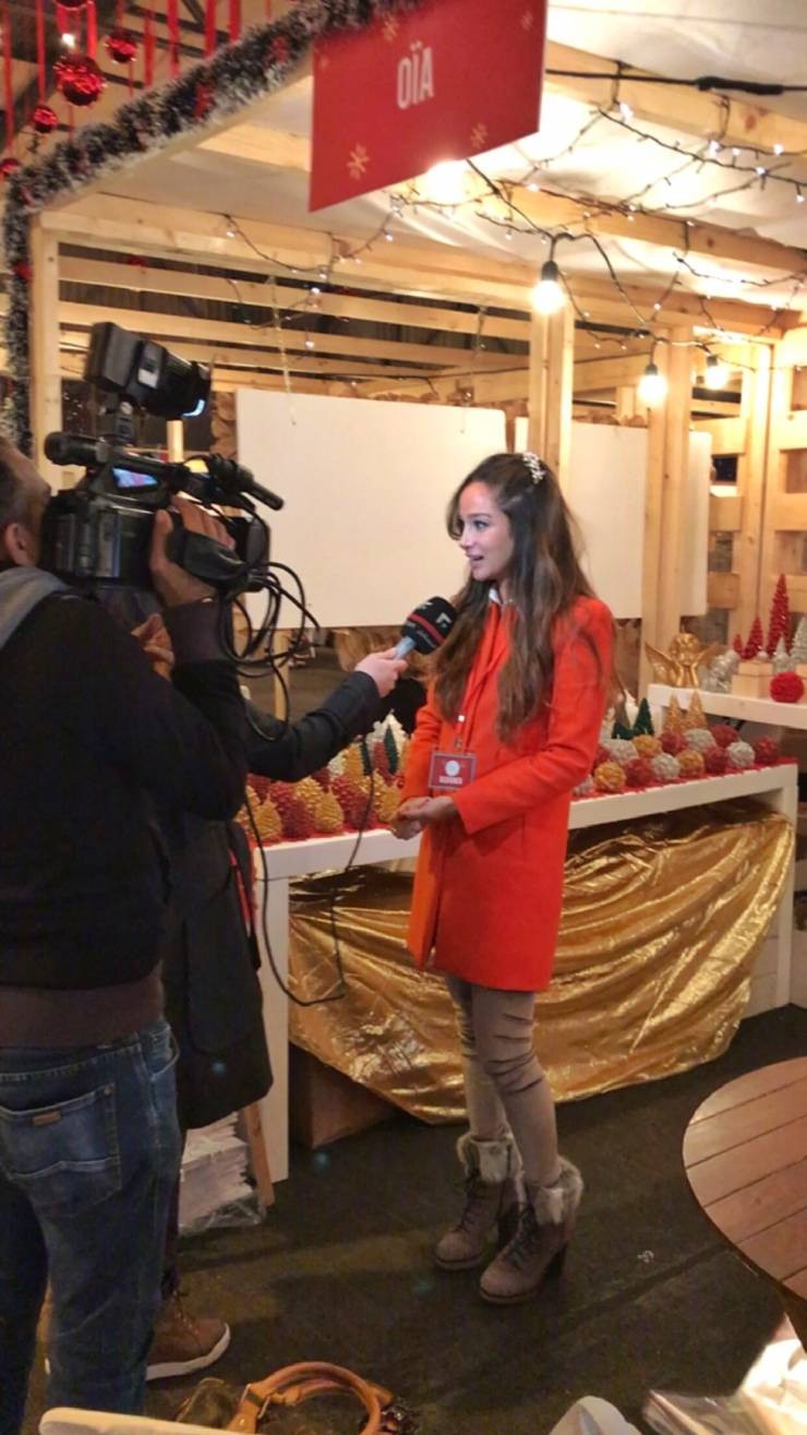 OÏA interview by Future TV at Christmas In Action